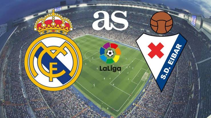 Read more about the article Real Madrid defeats Eibar comfortably to close the gap to Barcelona on LaLiga return