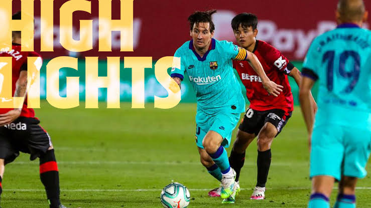 Highlights RCD Mallorca vs FC Barcelona (0-4)