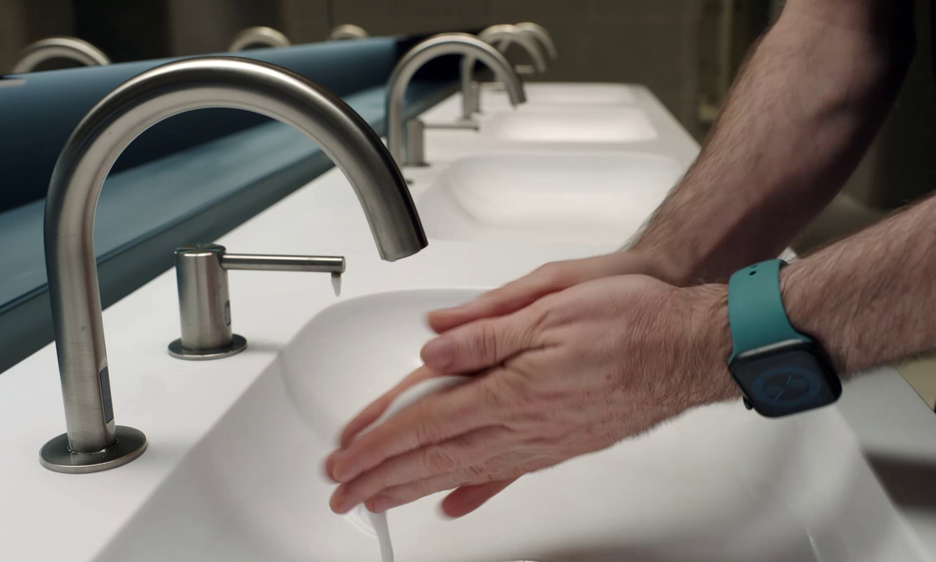 Wash Your Hands Properly!!! Apple Watch monitor Users