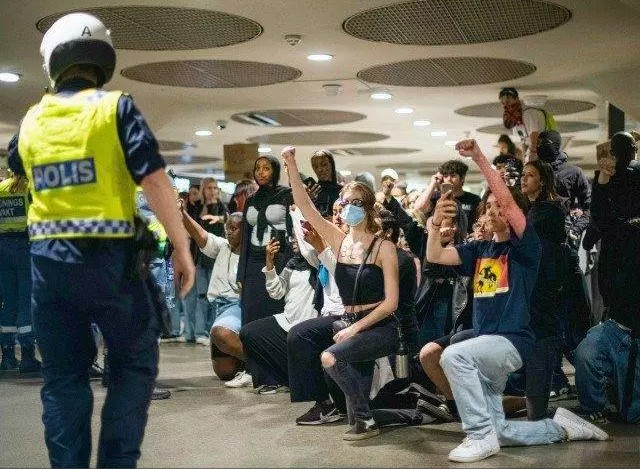 Read more about the article Swedish Black Lives Matter Protesters Demand Abolition of Police