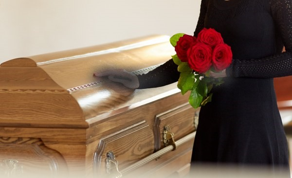 Father's Day: Woman buys coffin for Husband