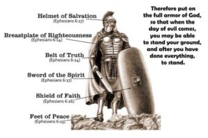 Put on the Armour of God…and Stand
