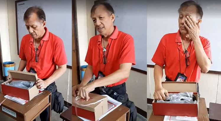 Filipino Teacher Cesar Punzalan gets Love from Students