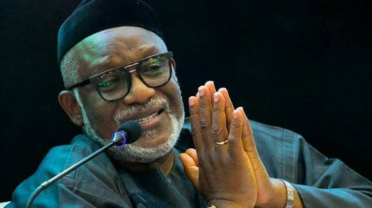 Worries over Public Safety as Ondo Governor Akeredolu tests Positive for Covid-19.