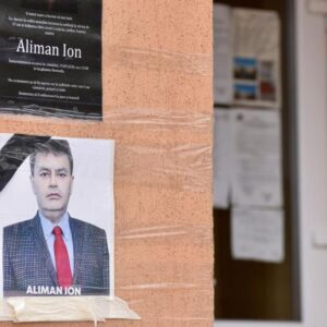 Late Ion Aliman, died at 56, re-elected as Romanian Deveselu Village Mayor.