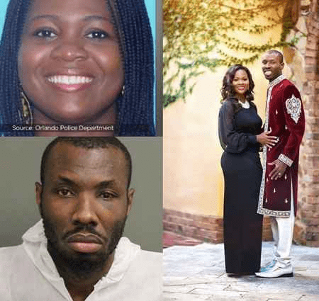 Last Recorded Video of Ghanaian Pastor Sylvester Ofori, 35, threatening Barbara Tommey, 27, in front of her family.