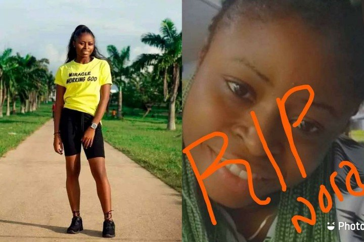 Nigerian Beauty Queen Nora Able allegedly committed Suicide after losing phone.