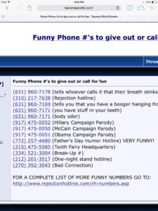 Funny Numbers to Call, 13 Funny Memes