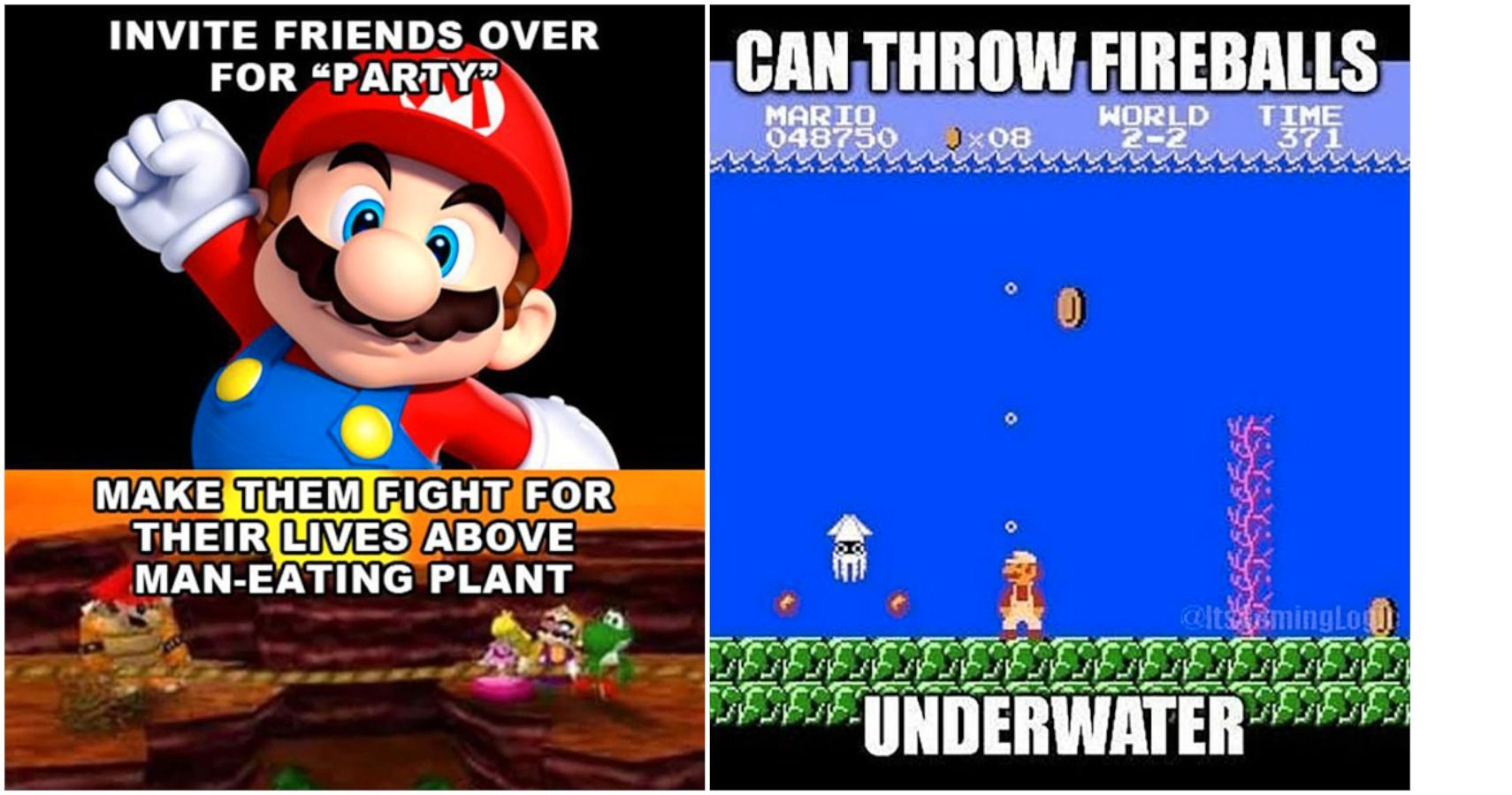 8 Funny Mario Memes [Funny Pictures and Video]