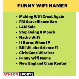 Funny WiFi names 2020, 13 funny memes