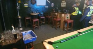 Pinting Covid-19: Ireland GARDAI Police raids and shut down illicit Kildare Shebeen with Operational Pub (and pool!)