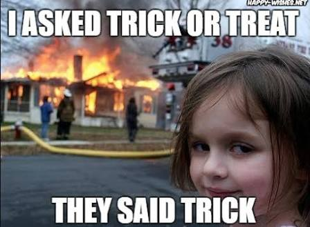 Trick-or-Treat: Halloween Funny Memes, Spooky Funny Pictures and Scary Cartoons (32 Weird Memes)