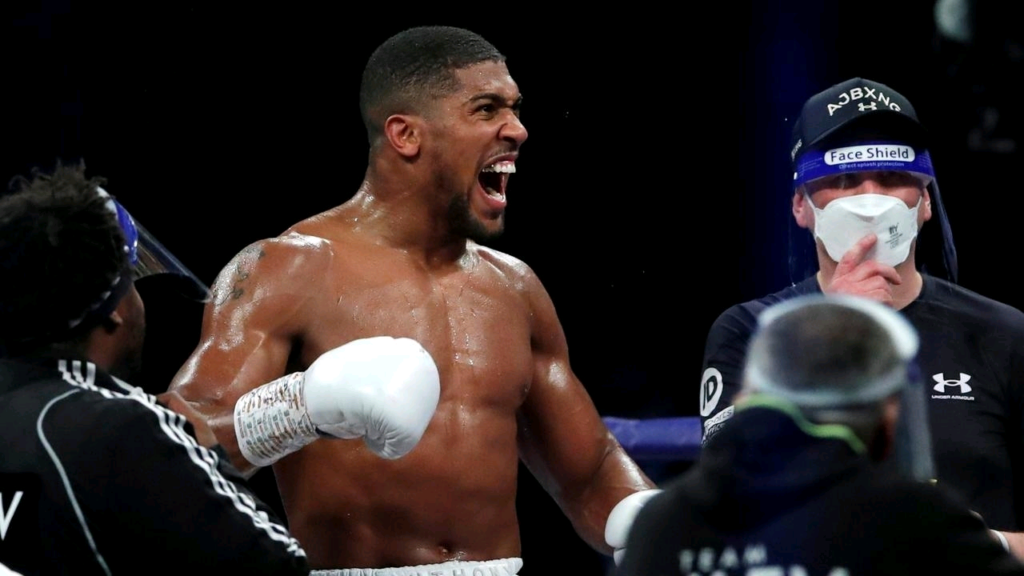 ANTHONY JOSHUA WINS He retains his IBF, WBA and WBO belts with a th round KO. Congratulations AJ #JoshuaPulev
