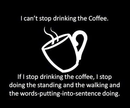 Drinking the Coffee Funny Meme