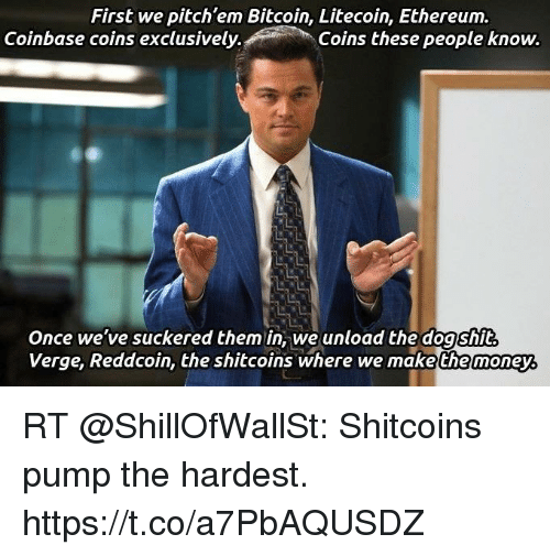 first we pitch em bitcoin litecoin ethereum coinbase coins exclusively 36029162 1