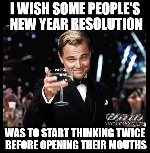 new year resolution meme