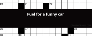 Funny Car (10 Crossword puzzles)