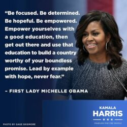 Happy birthday Michelle Obama, former First Lady of the United States of America (20+ inspirational quotes)