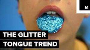 Glitter Tongue (11 funny beauty memes)
