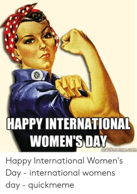 Read more about the article 40 International Women's Day Funniest, dankest and inspirational memes