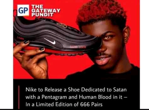 Read more about the article Lil Nas endorsement of Nike Satan Shoes draws large negative reactions following Montero Clip (Video and 13 funny memes)