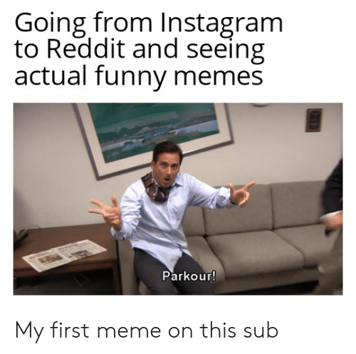 going from instagram to reddit and seeing actual funny memes 54934666