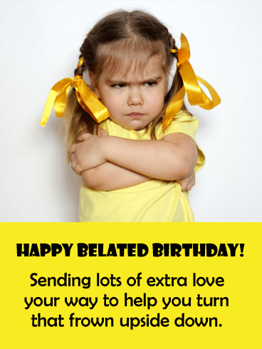 Read more about the article Belated birthday funny (17 funny birthday memes)