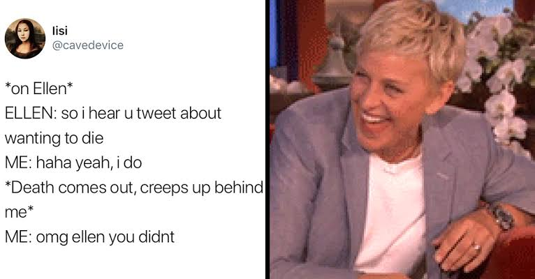 Read more about the article Talk show icon Ellen DeGeneres to End Daytime Talk Show After 19 Season (funny memes)