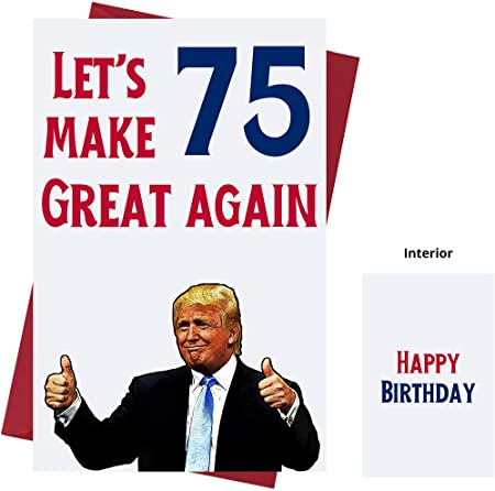 Read more about the article Funny birthday wishes as Donald Trump celebrates 75th birthday
